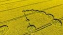 Crop Circle Wiltshire 2017 By Drone 4K