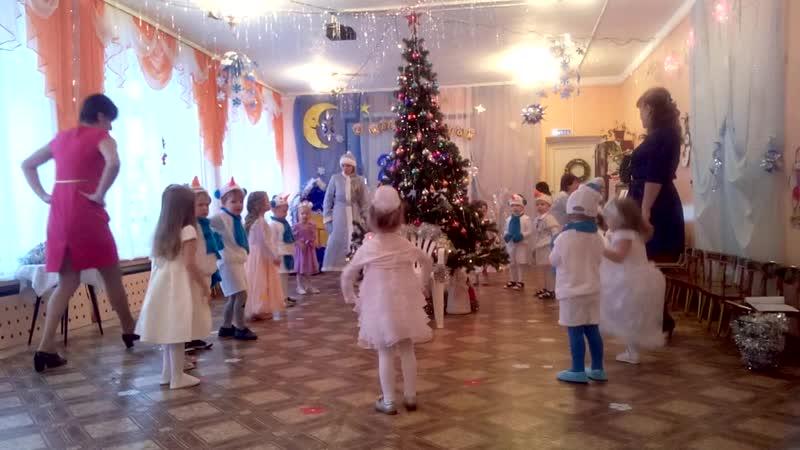 Новогодний праздник в детском саду у Лилечки