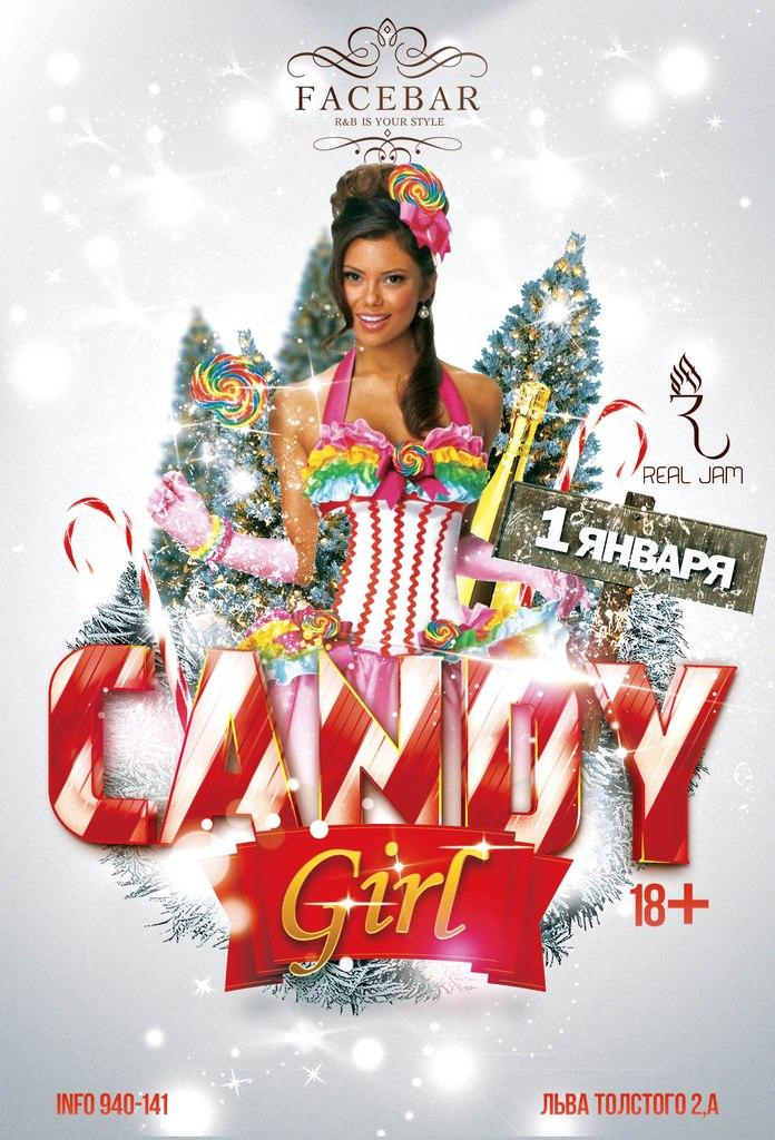 Афиша Хабаровск CANDY GIRL /01 января, FACE BAR/