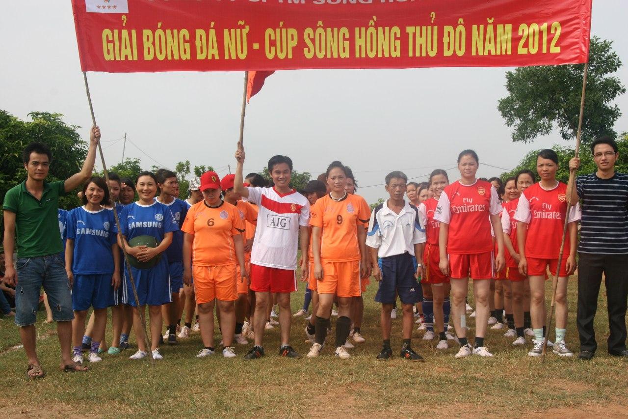 Giải Bóng đá nữ - Cup Sông Hồng Thủ Đô năm 2012