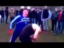 Футболист vs боксер