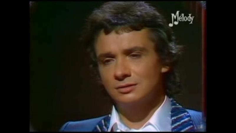 Michel Sardou En Chantant French Tvshow 1978