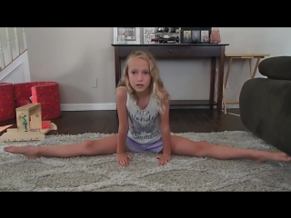 Sunset Kay How to Stretch for Cheer Flyer episode 2