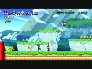 New Super Mario Bros. U Deluxe - Кралик и Тоадетта