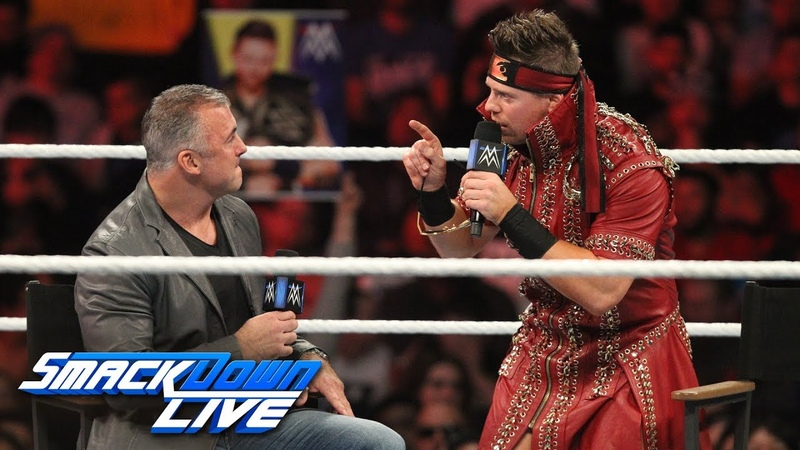 [BMBA] The Miz asks Shane McMahon to be his tag team partner: SmackDown LIVE, Nov. 20, 2018