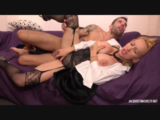 Indecentes-voisines - lena - lena, 26ans, double la mise ! [blonde, big tits, tattoos, anal, cum in mouth, threesome, mmf]
