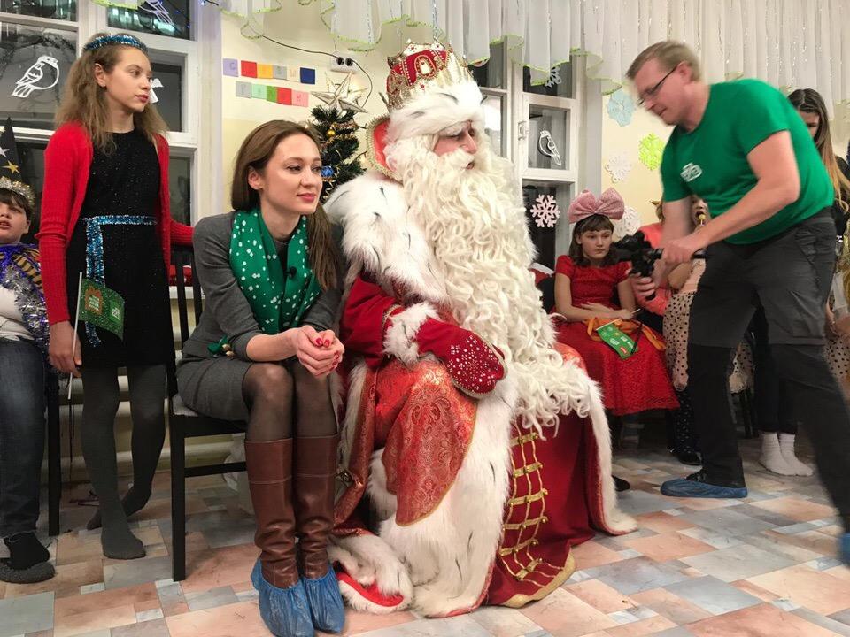 В Горячий Ключ приехал Дед Мороз из Великого Устюга!