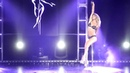 Maddie Sparkle performs at Pole and Aerial All Stars 2014