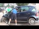 Пьяная девушка попадает в аварию и устраивает драку Пьяные ДТП Девушки за рулем