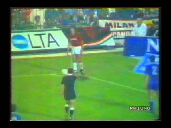 КЕЧ 1988-89. 1\16. Милан - Витоша. Ответный матч
