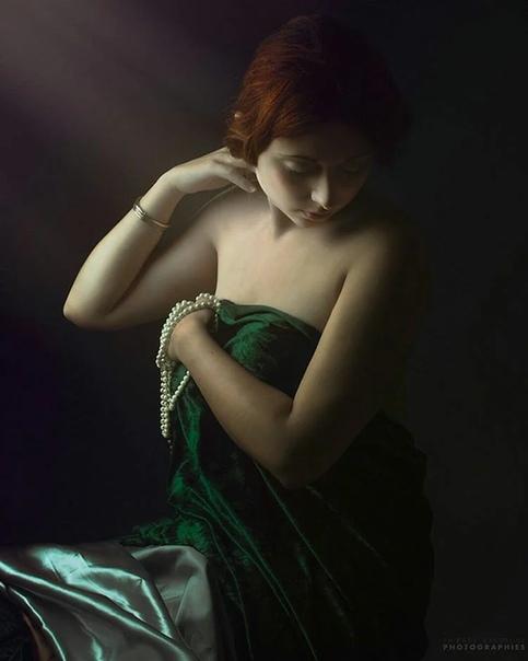 Апогей женского очарования. Неоклассика от французского фотографа Тьерри Бансо-современный французский художник-самоучка специализирующийся на фигуративной и портной живописи и