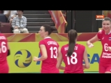 Волейбол Россия - Турция Чемпионат Мира (Ж) 2018