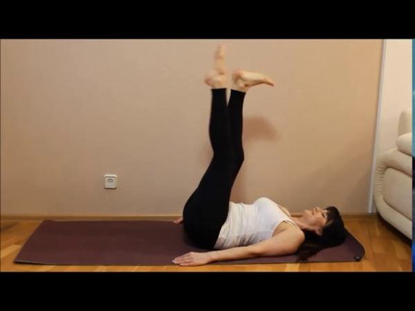 Анти-варикозная гимнастика! Всего 5 минут в день!
