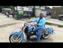 ..СУЗУКИ ВАЛЮСИЯ..чёрный мотоцикл .Заказной ..