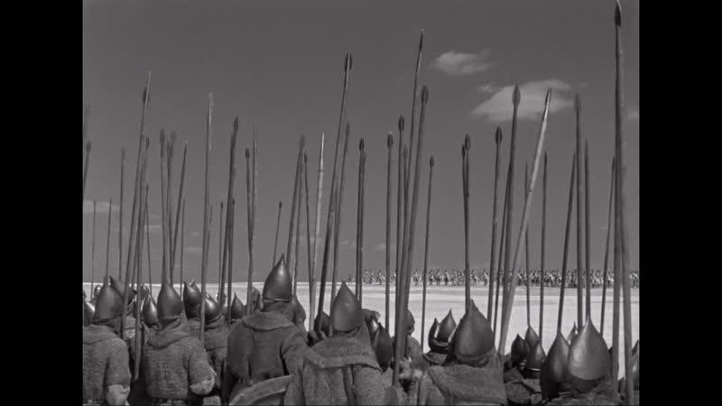 Александр Невский (1938) Атака Тевтонских Рыцарей