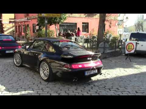 Porsche 911 993 Turbo lovely sound