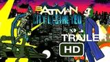 Бэтмен Разрушение Города(Второй трейлер) Batman City Destroyed рисуем мультфильмы