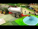 RC TRACTOR ACTION - A new Swimming Pool on the farm/Rc toys -fun action