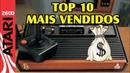 Top 10 mais vendidos Atari2600