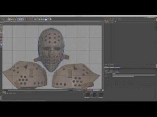 Моделирование хоккейной маски из «Пятница 13» в Cinema 4D