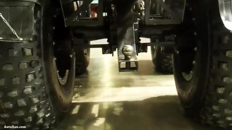 Cross-country vehicle ZUBR (Вездеход-болотоход Зубр) - Moscow Offroad Show 2015 - YouTube
