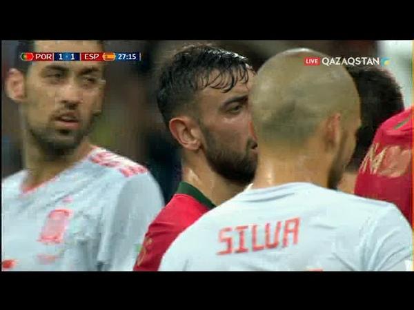 Португалия мен Испания голдар феериясын ұйымдастырды - 3:3 (шолу)