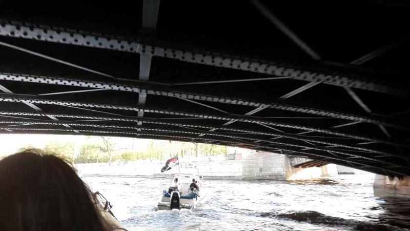 15.05.18 прогулка по рекам и каналам Петербурга