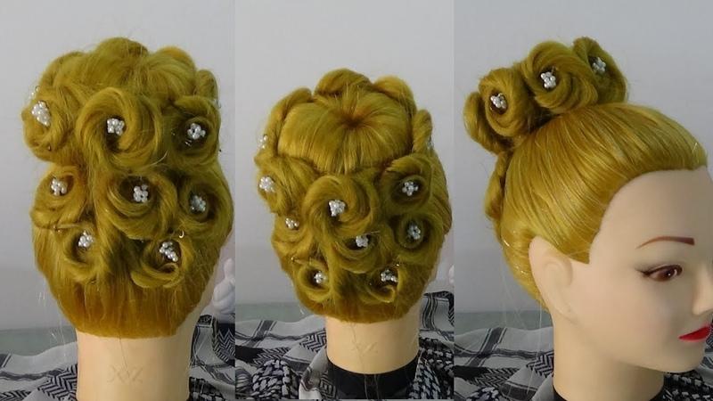 Empress Hairstyle / Penteado Imperatriz