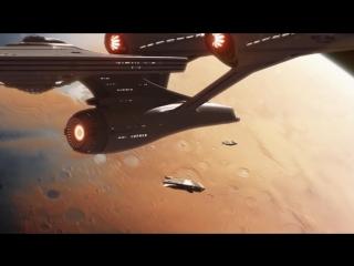Hopping Galaxies (Star Trek fan animation test renderings)