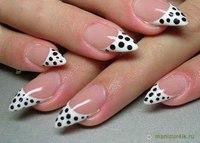 25/11/2012 04:01.  Простой фото дизайн ногтей.  Фотографии овальная форма ногтей.
