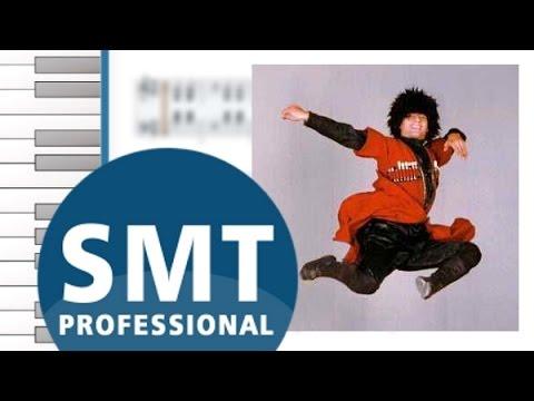 Как играть на аккордеоне Лезгинка | How to play on accordion | SMT Pro