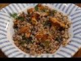 Юлия Высоцкая  Гречка с грибами, луком и укропом