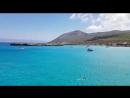 Красивое, голубое Средиземное море 🌊 Кипр🌴🌞😃