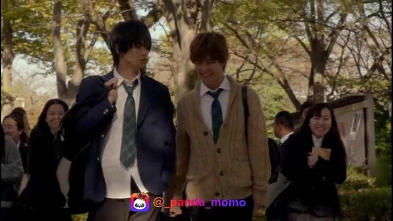 момент из дорамы Я не буду делать_ как говорит Куросаки-кун-Kurosaki-kun no Iinari ni Nante Naranai - фильм 1