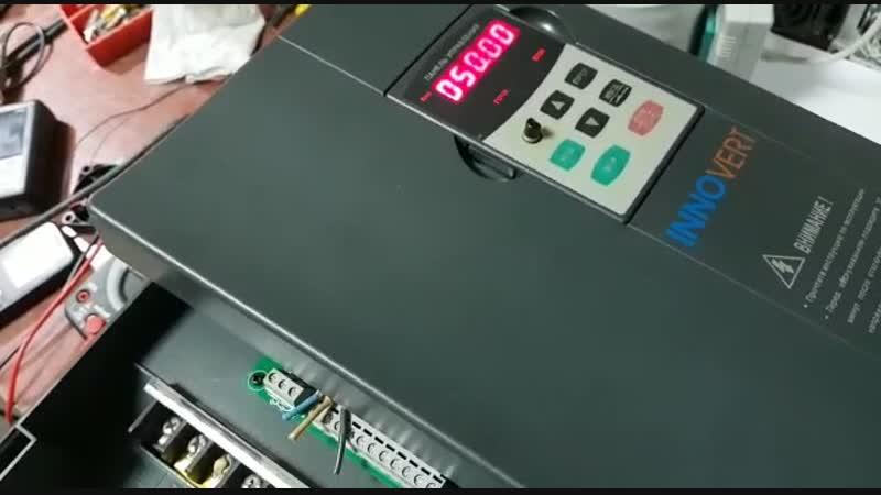 КИПлаб Ремонт преобразователя частоты Innovert IBD153U43B-отчет