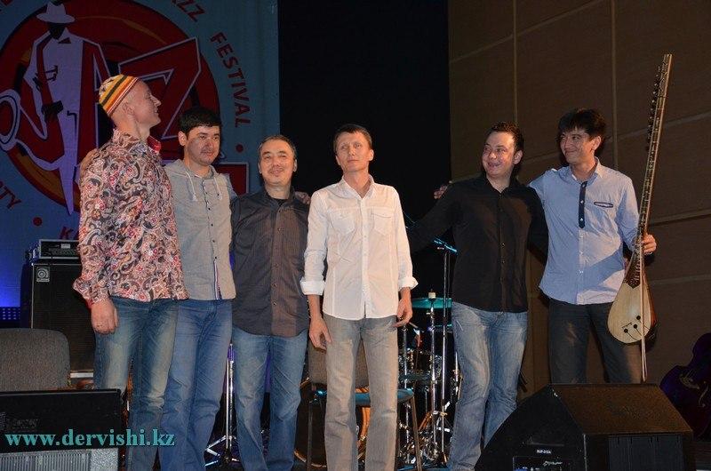 Дервиши на International Jazz Festival 2014