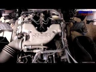 UD(Nissan Diesel) RF8 Engine View V8