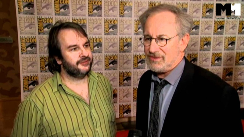 Tintin | Peter Jackson Steven Spielberg on the comics and the movie (2011) SDCC