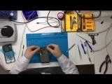 Замена дисплея на Meizu MX5. Видео №2. Очистка дисплейной рамки телефона и установка нового дисплейного модуля.
