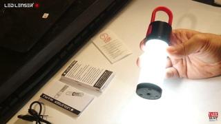 Обзор.Кемпинговый фонарь LED LENSER PL6 500943