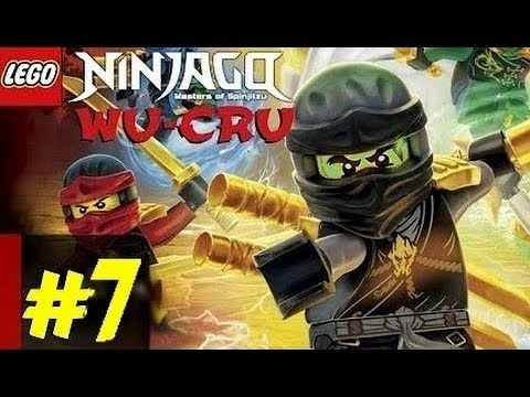 7 Ninjago WU CRU Cпасение Cole Игра как Мультик Lego ниндзяго Коул Лего Ниндзя ВУ КРУ Gameplay на