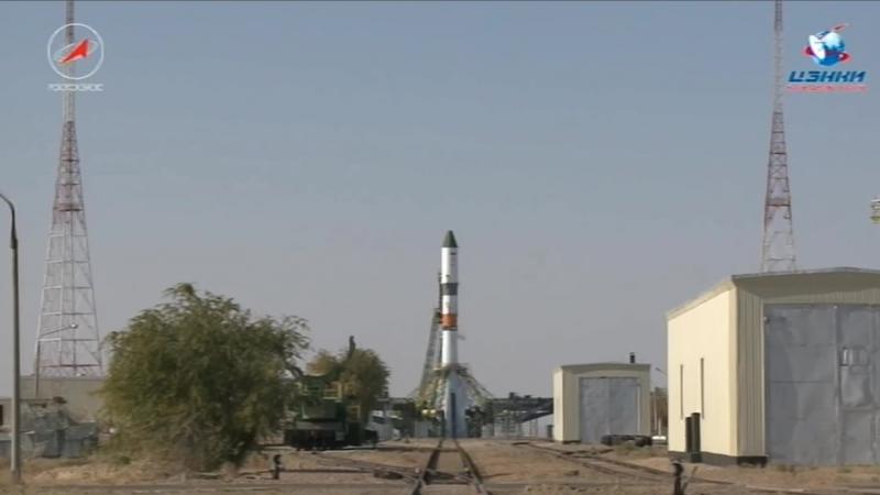 Запуск транспортного корабля Прогресс МС 07 с грузами для МКС Прямаятрансляция с космодрома Байконур