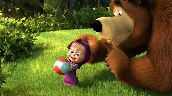 Маша и Медведь. Все серии