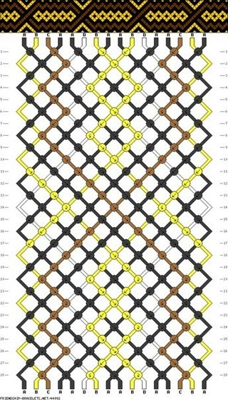Схемы касого плетение