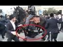 ISRAËL Des Juifs Orthodoxes Piétinés par des Chevaux Sionistes