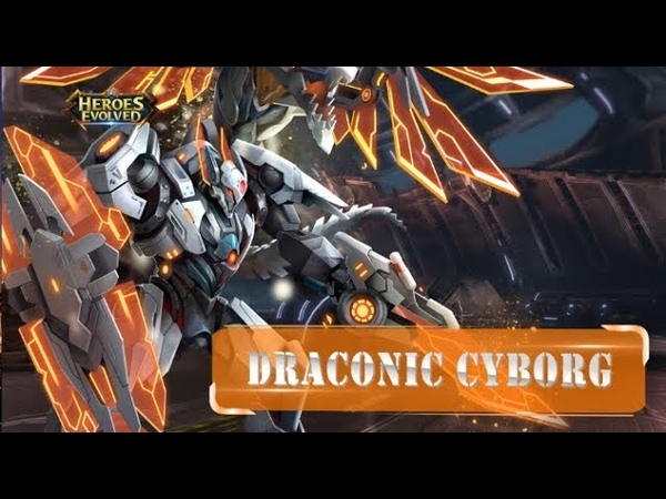 Heroes Evolved Draconic Crborg Dragos