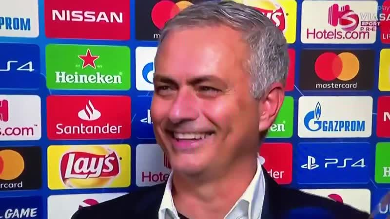 Jose Mourinho's a savage 😂😂😂 mufc