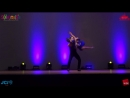 RAFAEL BARROS Y CARINE MORAIS SALSA SHOW - IIDF 2014