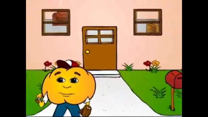 Present Continuous Verb Tense pt.6 - What is he doing- Fun English Grammar Cartoon Pumkin.com.