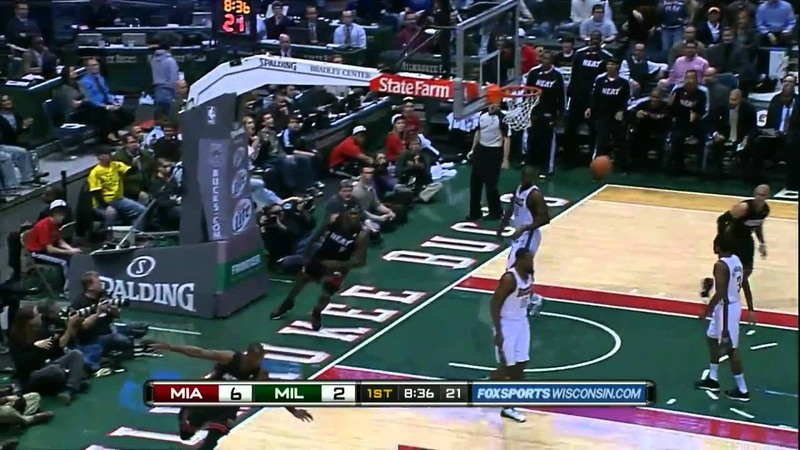 Dwyane Wade to LeBron James (Video of the picture)